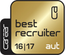 Best Recruiter 2016 / 2017 (Gold)